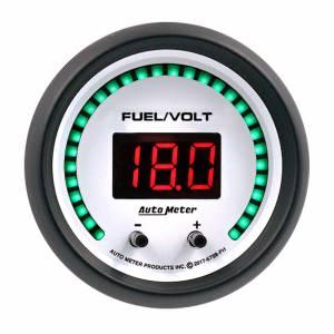 AUTO METER #6709-PH 2-1/16 Fuel/Volt Gauge Elite Digital PH Series