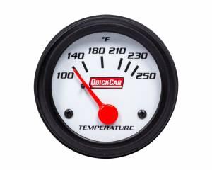 QUICKCAR RACING PRODUCTS #611-6205 Gauge Water Temperature 2in Open Wheel