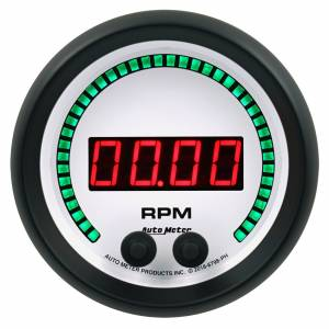 AUTO METER #6798-PH 3-3/8 16K RPM Tachometer Elite Digital PH Series