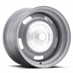 VISION WHEEL #55-5504 Wheel 15X5 5-4.5/4.75 Si lver Rally Vision