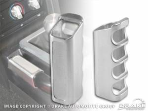 DRAKE AUTOMOTIVE GROUP #5R3Z-2760-BL 2005-09 Mustang Parking Brake Handle Cover