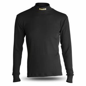 MOMO AUTOMOTIVE ACCESSORIES #MNXHCCTBKM00 Comfort Tech High Collar Shirt Black Medium