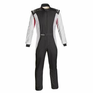 SPARCO #001128SFB52NRBR Comp Suit Black/Red Medium