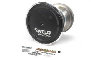 WELD RACING #735B-51755BC-6 15x17 42 Spline 5in BS Bead-Loc w/Cover
