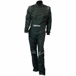 ZAMP #R040003XL Suit ZR-50 Black X-Large Multi Layer SFI 3.2A/5