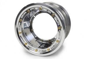 KEIZER ALUMINUM WHEELS INC #M1073BLBC Direct MNT Wheel B/L 10x7 3in bs