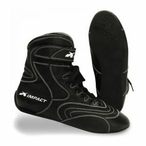 IMPACT RACING #49209010 Shoe Nitro Drag Black 9 SFI3.3/20