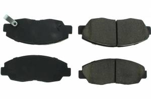 CENTRIC BRAKE PARTS #105.0465 Posi-Quiet Ceramic Brake Pads with Shims and Hardware