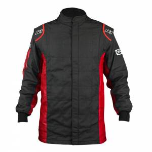 K1 RACEGEAR #21-SPT-NR-ML Jacket Sportsman Black / Red Medium / Large