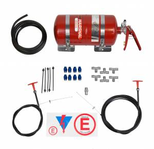 Fire Suppression System Zero 2000 4.0 Ltr FIA