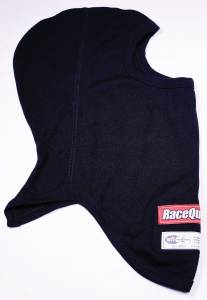 Headsock FR Black Single Layer SFI 3.3