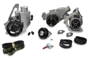 JONES RACING PRODUCTS #1441-AR-75 Serpentine Drive Kit SBC w/ P/S - W/P & Alt.
