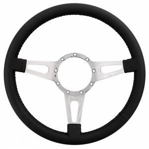 LECARRA STEERING WHEELS #44201 Steering Wheel Mark 4 Su preme Pol. w/ Black Wrap