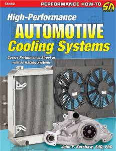 S-A BOOKS #SA462 High-Performance Automotive Cooling System