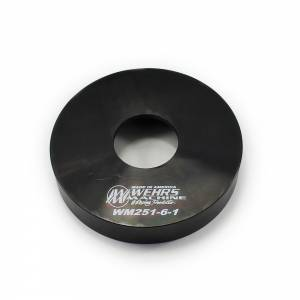 WEHRS MACHINE #WM251-6-1 Spring Cup Slider 5in OD Alignment Nut Side