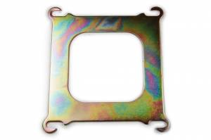 RACING POWER CO-PACKAGED #R1100 Square-Bore To Spread-Bore Adapter Plate - Zinc