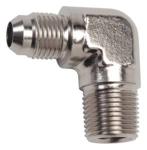 RUSSELL #660871 Endura Adapter Fitting #8 to 1/2 NPT 90 Degree