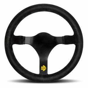 MOMO AUTOMOTIVE ACCESSORIES #R1930/32S MOD 31 Steering Wheel Black Suede