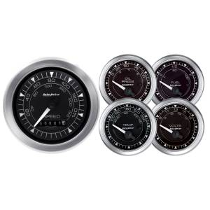 AUTO METER #8100 Chrono  5-Piece Gauge Kit