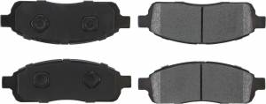 CENTRIC BRAKE PARTS #106.1392 Posi-Quiet Extended Wear Brake Pads with Shims