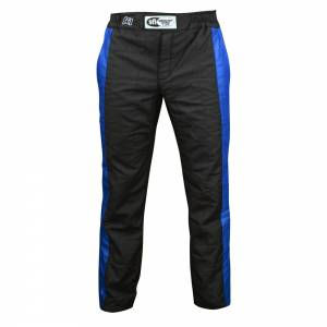 K1 RACEGEAR #22-SPT-NB-XL Pant Sportsman Black / Blue X-Large