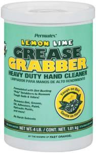 PERMATEX #13106 Grease Grabber Heavy Duty Hand Cleaner 4lb Tub