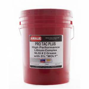 AMALIE #160-68334-28 Pro Tac Plus Grease w/ 5% Moly Case 35 Lbs.