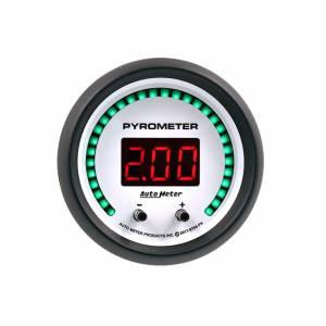 AUTO METER #6744-PH 2-1/16 Pyrometer Gauge Elite Digital PH Series