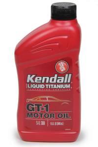 KENDALL OIL #1074971 Kendall 30w Gt-1 Hi Perf Oil 1qt
