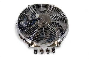 RACING POWER CO-PACKAGED #R1205 14in Electric Fan Curved Blades