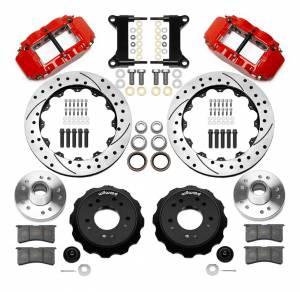 WILWOOD #140-15949-DR Brake Kit Front GM C1500 88-98 5 Lug 13.06in Rtr