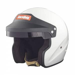 RACEQUIP #256112 Helmet Open Face Small White SA2020