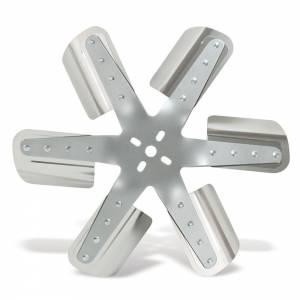 FLEX-A-LITE #101576 Belt Driven Race Fan15In Alum Blade - Silver