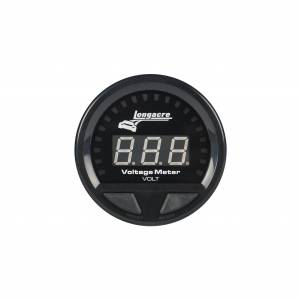 Waterproof LED Volt Gauge 8-18v