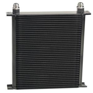 DERALE #54010 Stack Plate Oil Cooler 4 0 Row (-10AN)