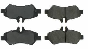 CENTRIC BRAKE PARTS #102.1317 Metallic Pads