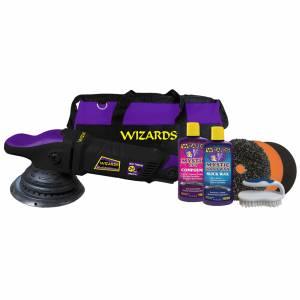 WIZARD PRODUCTS #DA21HDKIT Wizard 21 Big Throw Polisher w/SSR Kit