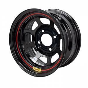 BASSETT #BAS57RT4 Wheel 15in x 7in 4x4.5in DOT Black