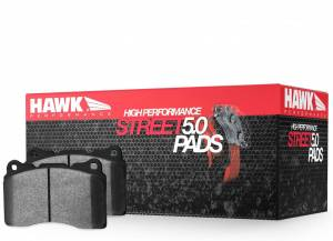 HAWK BRAKE #HB601B.626 Street Brake Pads Front Infiniti G37 HPS 5.0