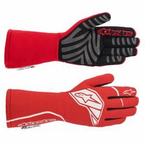 ALPINESTARS USA #3551620-32-M Tech-1 Start Glove Medium Red / White