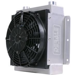 DERALE #65860 Hi-Flow 18 Row Racing Re mote Cooler