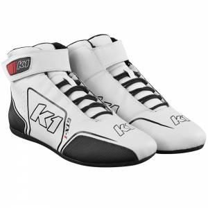 K1 RACEGEAR #24-GTX-W-65 Shoe GTX-1 White / Black Size 6.5