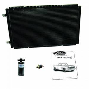 VINTAGE AIR #21581 Condenser w/Drier 81-87 GM P/U
