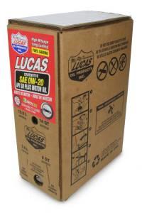 LUCAS OIL #18003 Synthetic SAE 0W20 Oil 6 Gallon Bag In Box