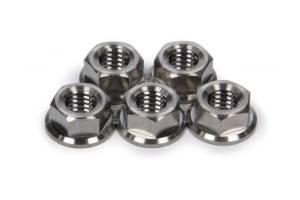 Ti22 PERFORMANCE #TIP1228 Front Hub Flange Nuts Titanium 3/8-16 5pk