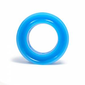 RE SUSPENSION #RE-SR250B-0750-90 Spring Rubber Barrel 90A Blue 3/4 in Coil Space