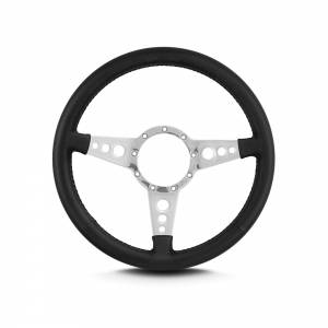 LECARRA STEERING WHEELS #42201 Steering Wheel Mark 4 GT Polished w/Black Wrap