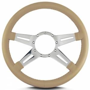 LECARRA STEERING WHEELS #93209 Steering Wheel Mark 9 El egante Pol. w/Tan Wrap