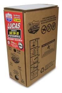 LUCAS OIL #18005 Synthetic SAE 5W30 Oil 6 Gallon Bag In Box