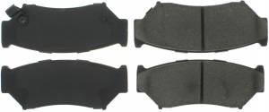 CENTRIC BRAKE PARTS #300.0556 Metallic Brake Pads